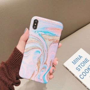 Accessories - NEW iPhone 7/8 Pastel Marble Swirl Case
